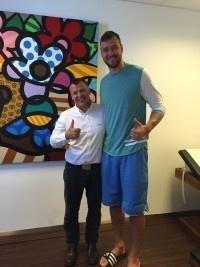 NBA Basketballer an einem Bandscheibenvorfall erfolgreich operiert