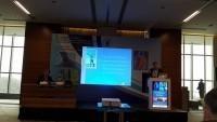 Dr. Schubert auf einem Kongress in Istanbul