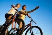 Fahrradfahren - gutes Training für die tiefe Rückenmuskulatur