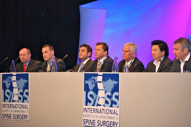 Michael Schubert beim Wirbelsäulenkongress in Barcelona