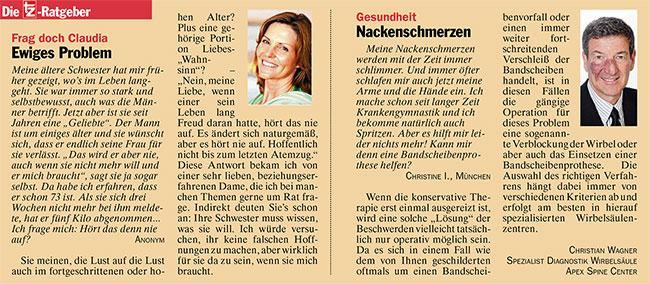 Wagner Nackenschmerzen